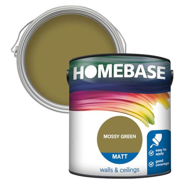Homebase Matt Paint - Mossy Green 2.5L