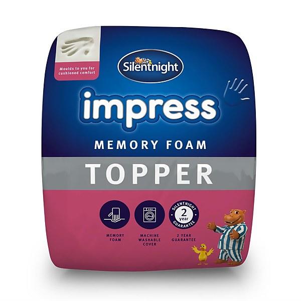 Silentnight Impress 2.5cm Memory Foam Top  Single