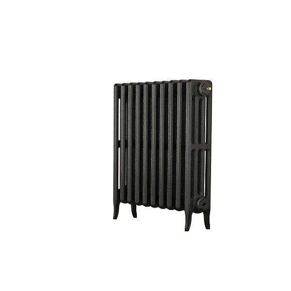 Neo Classic 4 Column Cast Iron Radiator 754 X 660 - Black