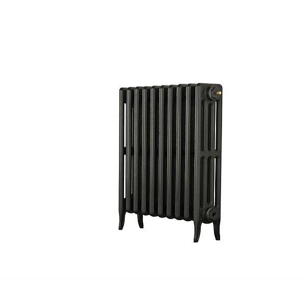 Neo Classic 4 Column Cast Iron Radiator 634 X 660 - Black