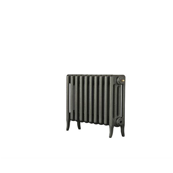 Arroll 4 Column Cast Iron Radiator 754 X 460 - Cast Grey