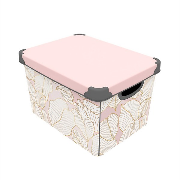Blush Tropic Storage Box