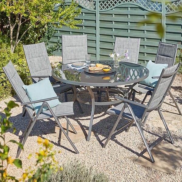 Misali 6 Seater Garden Dining Set