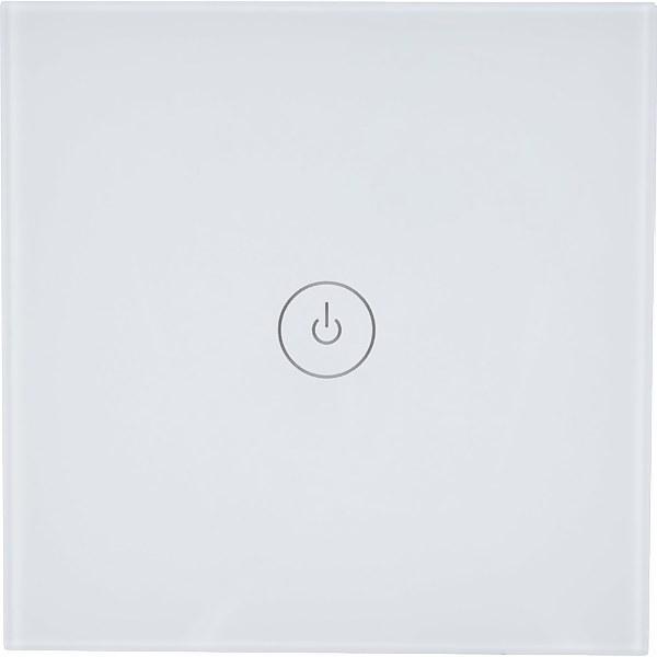 TCP Smart Wifi Wall Switch Single White Uk