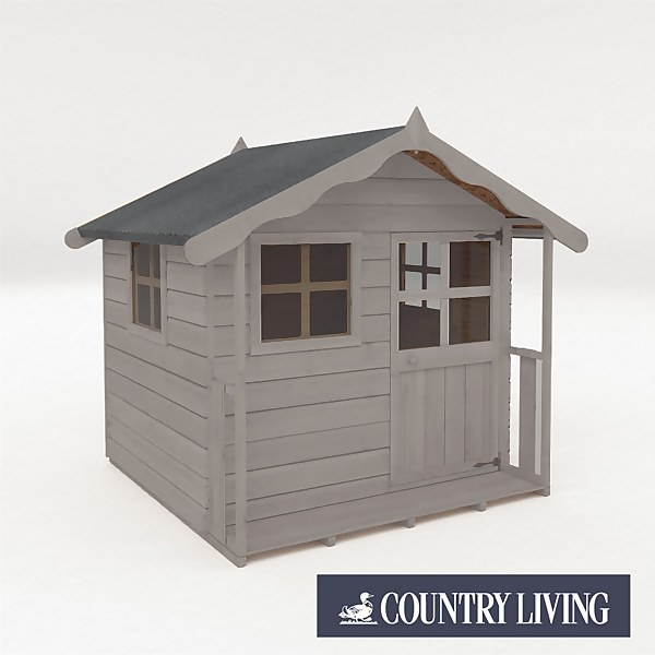 Country Living Wellow Playhouse Painted + Installation - Thorpe Towers