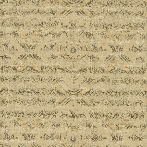 Grandeco Boutique Clarence Saran Yellow Wallpaper