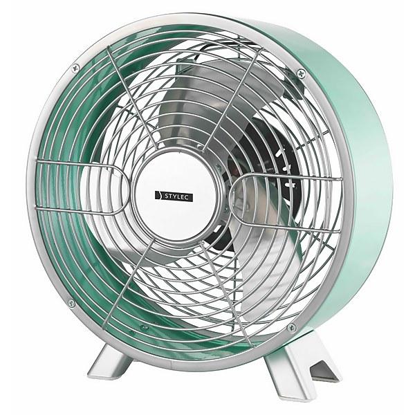 8 Inch Metal Coloured Desk Fan