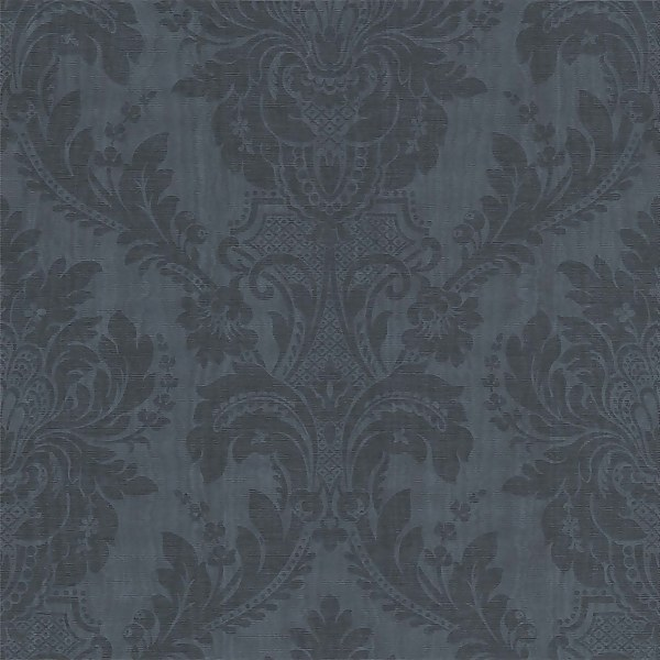 Grandeco Boutique Clarence Limoges Navy Wallpaper