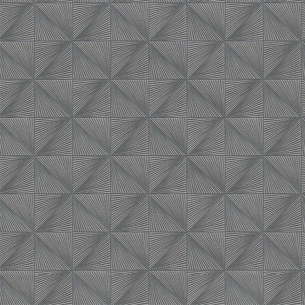 Grandeco Boutique Clarence Verdun Grey/Silver Wallpaper