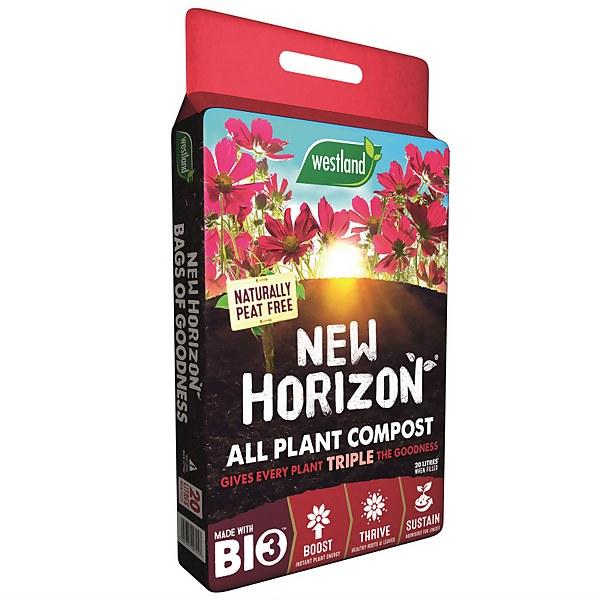Westland New Horizon Peat Free All Plant Compost Mix - 20L