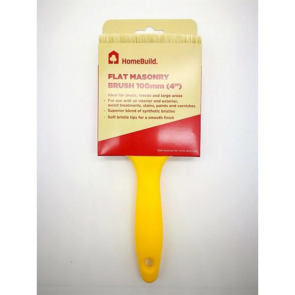 HomeBuild Flat Masonry Brush 4
