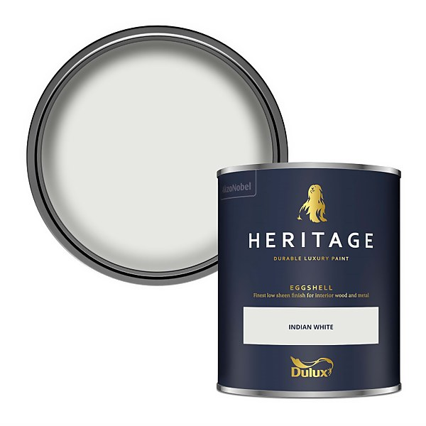 Dulux Heritage Eggshell Paint - Indian White - 750ml