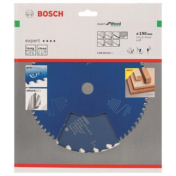 CSB Expert Wood Hand Held Circular Saw Blade - 190 x 30 x 2.6 x 24t