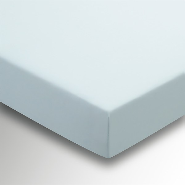 Helena Springfield Fitted Sheet - Double - Duck Egg