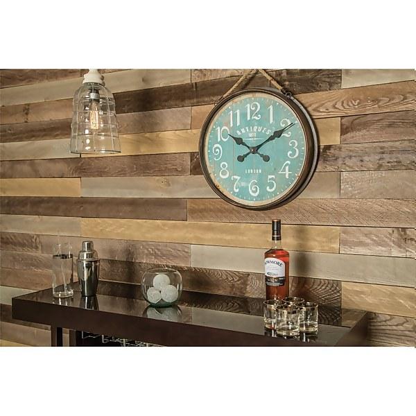 Provincial Plank Hardwood Cladding Panels - (H)1220x(W)94x(D)9mm