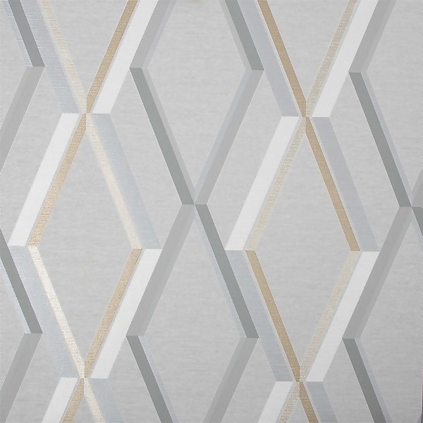 Superfresco Easy Prestige Geo Grey Wallpaper