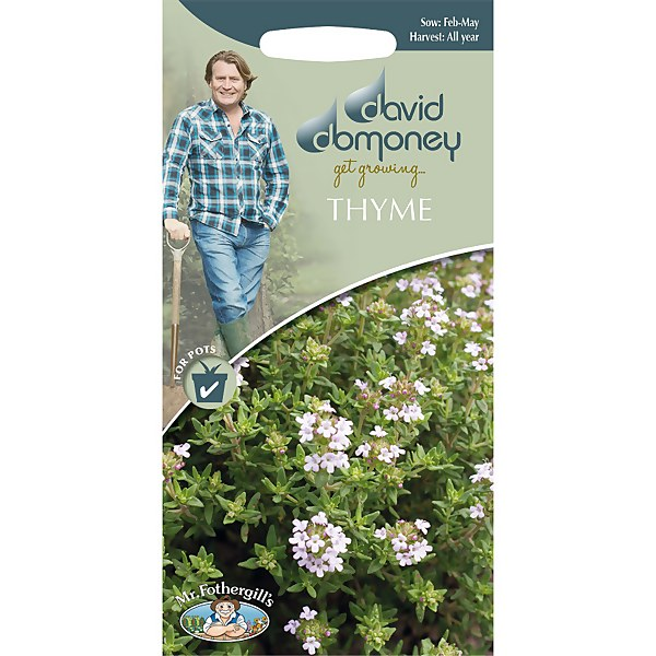 David Domoney Thyme  Seeds