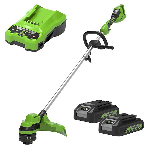 48V Line Trimmer with battery and charger