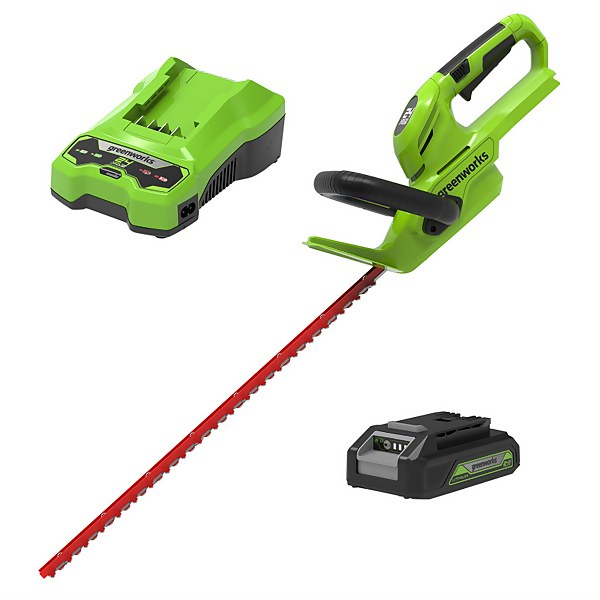 24V 56cm Hedge Trimmer with Rotating Handle (Charger and Battery included)