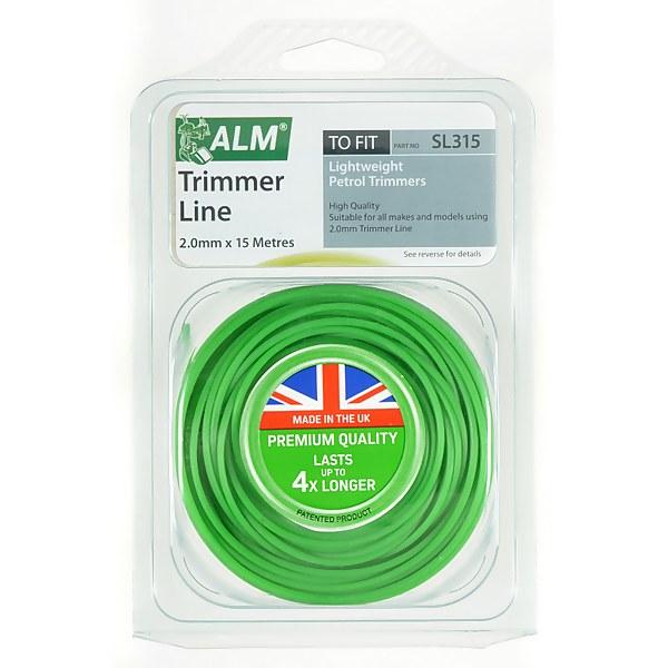 ALM 2mm x 15m Grass Trimmer Line