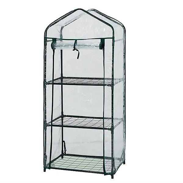 3 Tier Mini Greenhouse - 59 x 39 x 126cm