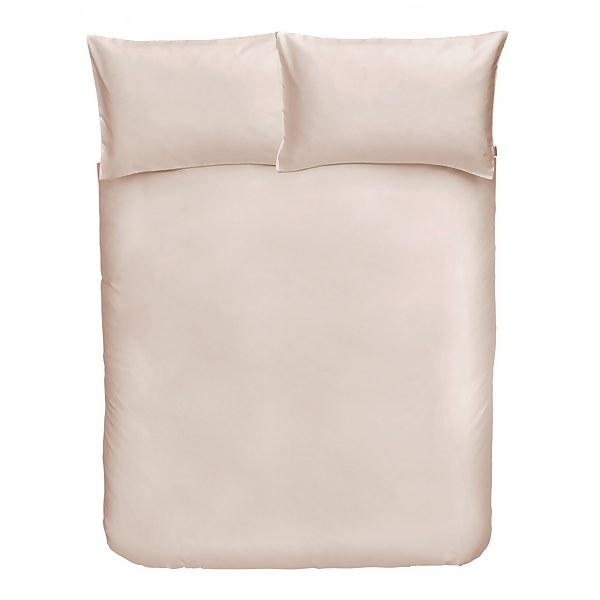 Cotton Duvet Cover Set - King - Oyster