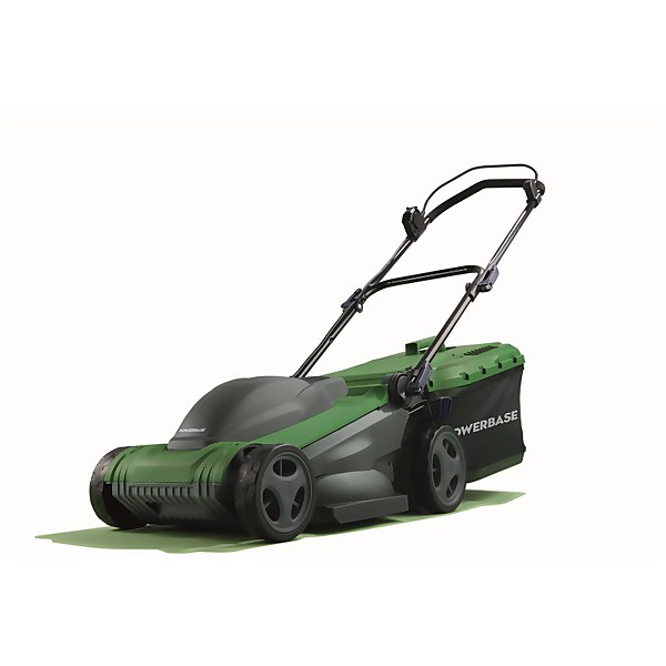 Powerbase 1600W Electric Lawn Mower 37cm