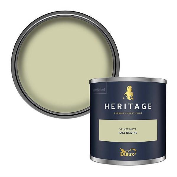 Dulux Heritage Colour Tester - Pale Olivine - 125ml