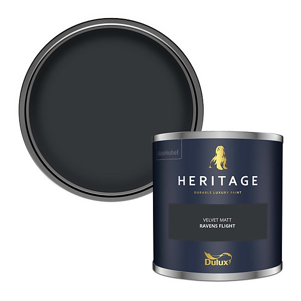 Dulux Heritage Colour Tester - Ravens Flight - 125ml