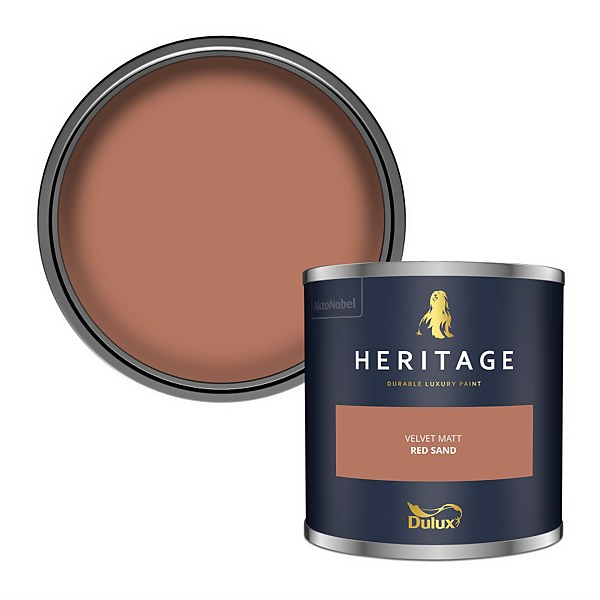 Dulux Heritage Colour Tester - Red Sand - 125ml