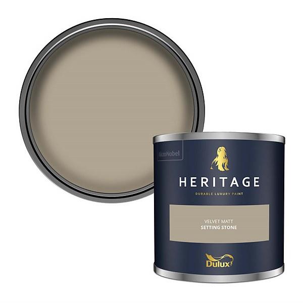 Dulux Heritage Colour Tester - Setting Stone - 125ml