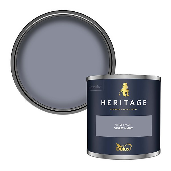 Dulux Heritage Colour Tester - Violet Night - 125ml