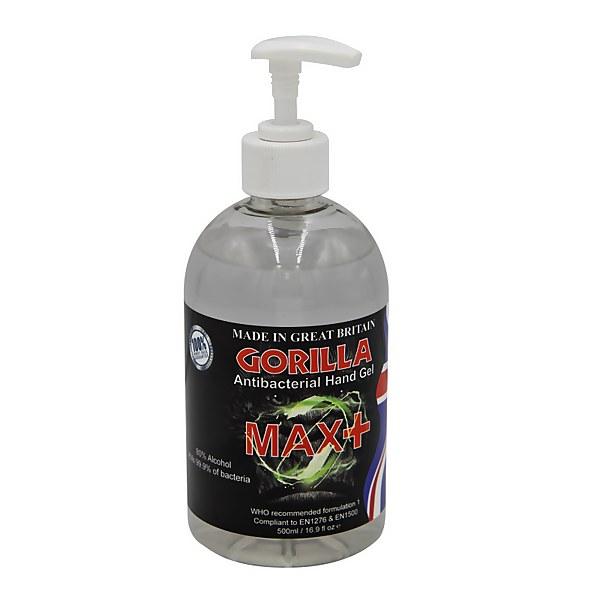 Gorilla Anti-bacterial Hand Sanitiser Gel - 500ml