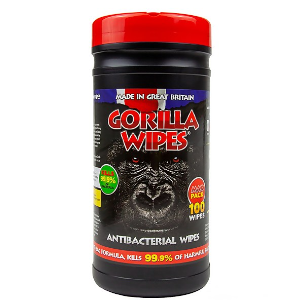 Gorilla Anti-bacterial Cleaning Wipes - 100 Pack