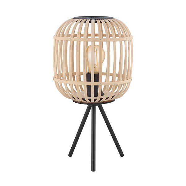 Eglo Bordesley Wooden Table Lamp