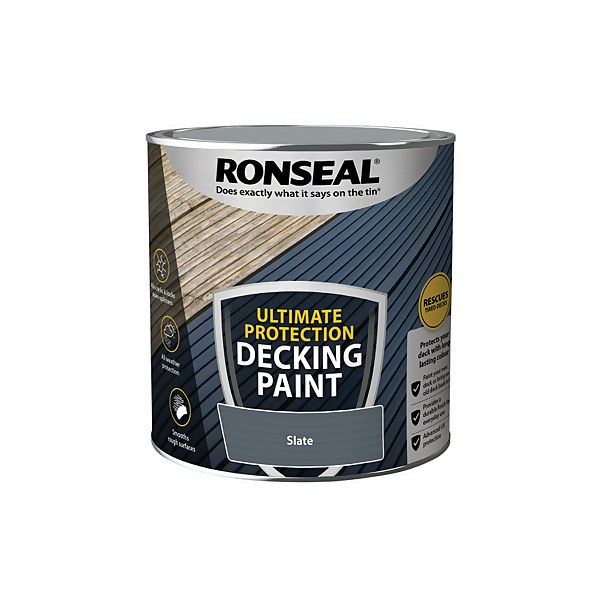 Ronseal Ultimate Protection Decking Paint Slate 2.5L