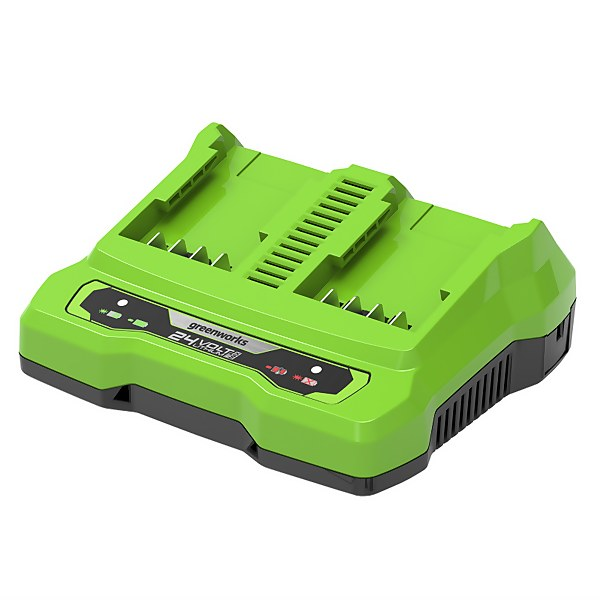 24V Twin Port 2A charger
