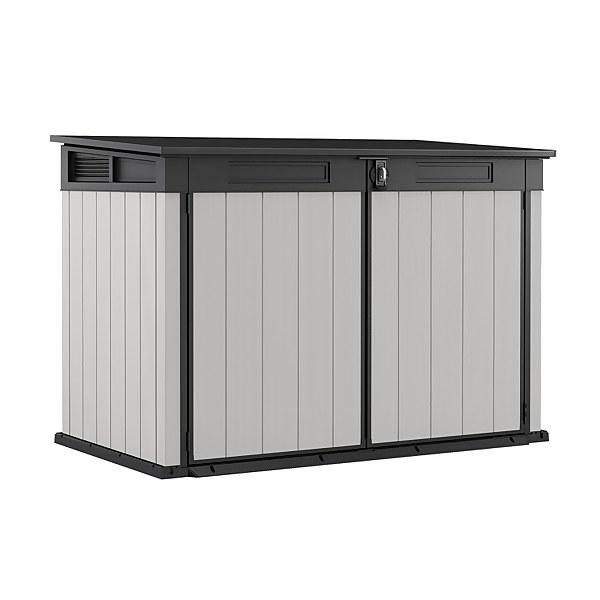Keter Premier Jumbo Outdoor Plastic Garden Storage Shed 2020L - Grey