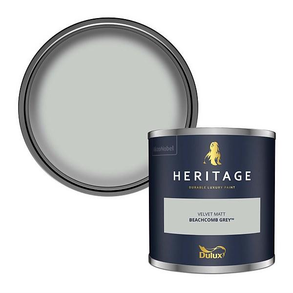 Dulux Heritage Colour Tester - Beachcomb Grey - 125ml