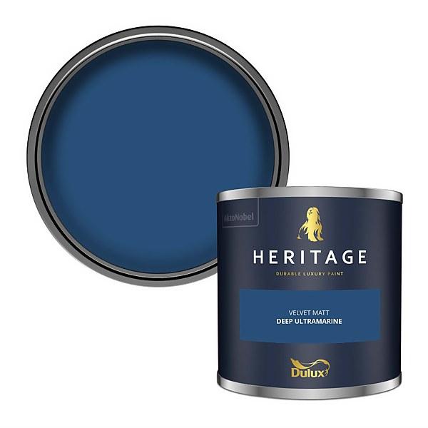 Dulux Heritage Colour Tester - Deep Ultramarine - 125ml