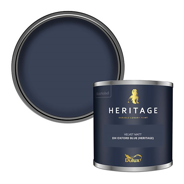 Dulux Heritage Colour Tester - DH Oxford Blue - 125ml