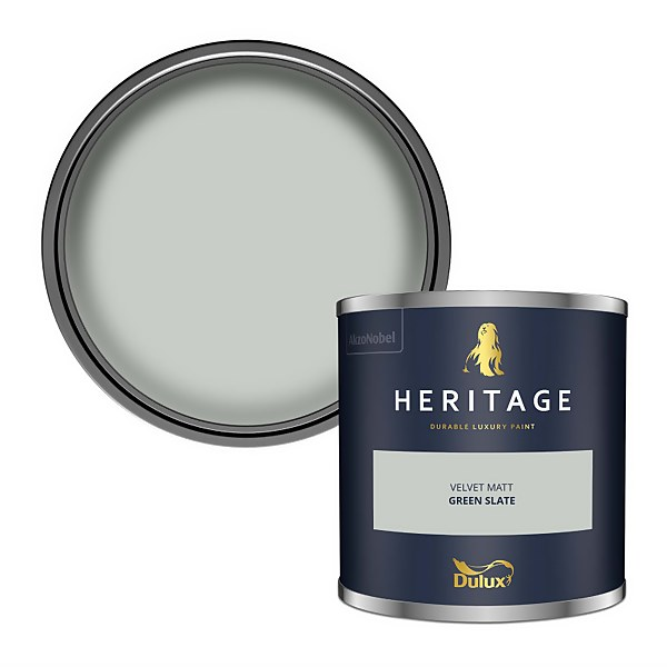 Dulux Heritage Colour Tester - Green Slate - 125ml