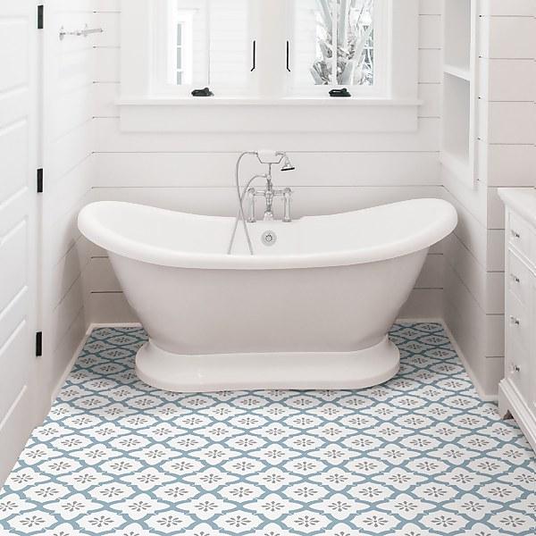 FloorPops Peel and Stick Floor Tiles - Alfama