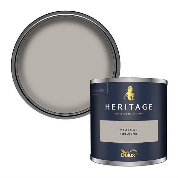 Dulux Heritage Colour Tester - Pebble Grey - 125ml