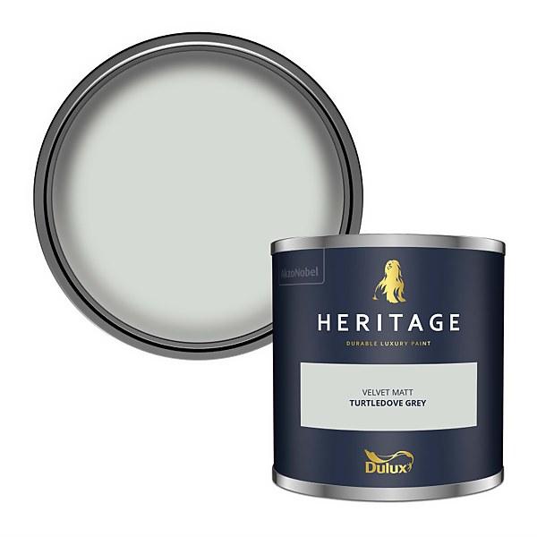 Dulux Heritage Colour Tester - Turtledove Grey - 125ml