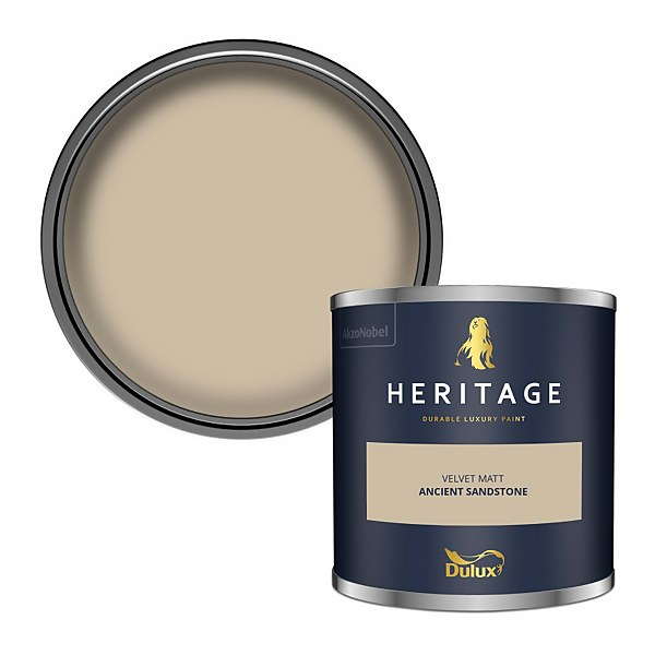 Dulux Heritage Colour Tester - Ancient Sandstone - 125ml