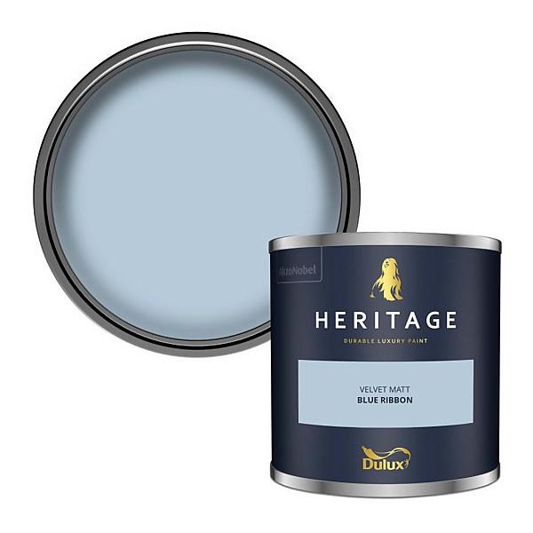 Dulux Heritage Colour Tester - Blue Ribbon - 125ml