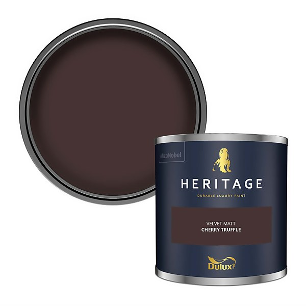 Dulux Heritage Colour Tester - Cherry Truffle - 125ml