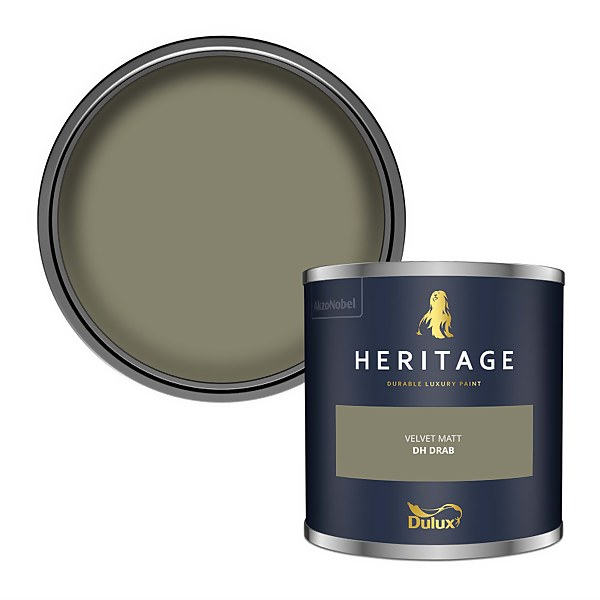 Dulux Heritage Colour Tester - DH Drab - 125ml