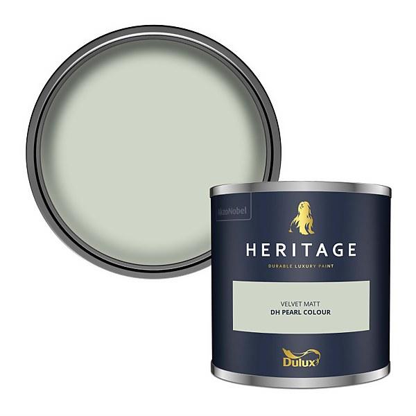 Dulux Heritage Colour Tester - Pearl Colour - 125ml